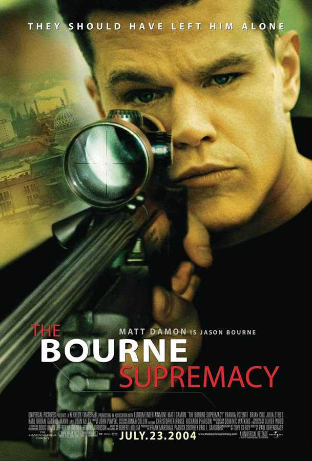 The Bourne Supremacy - Jasin Boland