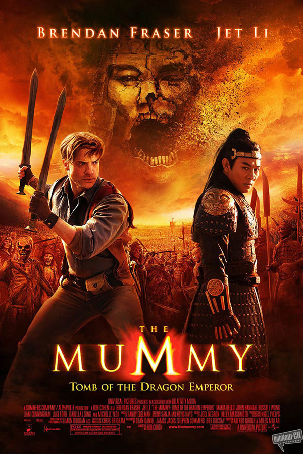 The Mummy 3 - Photography by Jasin Boland